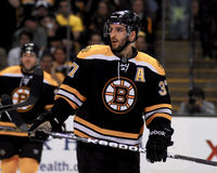 Patrice Bergeron, Boston Bruins Royalty Free Stock Photography
