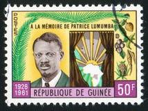 Patrice Lumumba Royaltyfria Foton