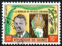 Patrice Lumumba Royaltyfri Bild