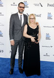 Patricia Arquette και λευκό του Eric Στοκ Εικόνα