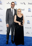 Patricia Arquette και λευκό του Eric Στοκ Φωτογραφίες