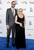 Patricia Arquette και λευκό του Eric Στοκ φωτογραφίες με δικαίωμα ελεύθερης χρήσης