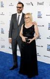 Patricia Arquette και λευκό του Eric Στοκ Φωτογραφία