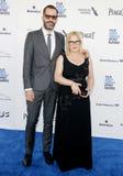 Patricia Arquette και λευκό του Eric Στοκ φωτογραφία με δικαίωμα ελεύθερης χρήσης