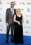 Patricia Arquette e Eric White fotografie stock