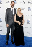 Patricia Arquette e Eric White fotografie stock libere da diritti