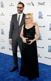 Patricia Arquette e Eric White fotografia stock
