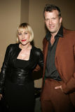 Patricia Arquette e Thomas Jane immagine stock libera da diritti