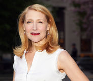 Patricia Clarkson. Actress Patricia Clarkson, known as the queen of the Indies, arrives on the red carpet of the Vanity Fair party celebrating the 9th Annual royalty free stock image