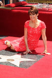 Patricia Heaton at the ceremony honoring Patricia Heaton with a Star on The Hollywood Walk of Fame Stock Photography