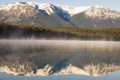 Patricia jezioro w Jaspisowym parku narodowym obraz royalty free
