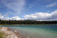 Patricia Lake Stock Image