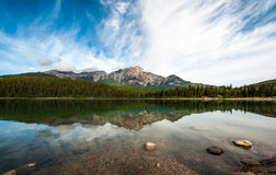 patricia lake in jasper alberta Stock Photography