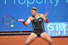 Patricia Mayr - Prague open 2011 Royalty Free Stock Images