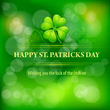 Patrick�s day background Royalty Free Stock Photo