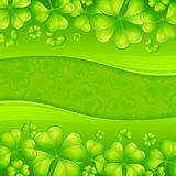 Patrick�s day background Stock Photos