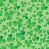 Patrick clover seamless bright background. Patrick clover seamless bright background in vector format Royalty Free Stock Images