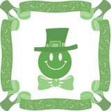 Patrick day background. Stock Images