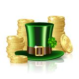 Patrick day background Stock Photography