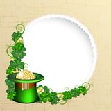 Patrick day background Royalty Free Stock Photo