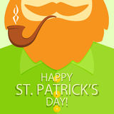Patrick Day background Stock Image