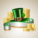Patrick day card Stock Images
