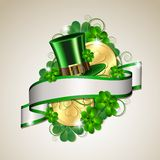 Patrick day card Stock Photo