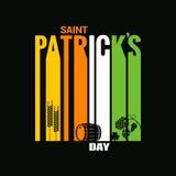 Patrick day design vector background Stock Photo