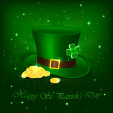 Patrick day hat Royalty Free Stock Images