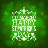 Patrick day sign design background. 10 eps Stock Images