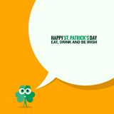 Patrick day social media background Stock Images