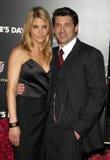 Patrick Dempsey and Jill Dempsey Royalty Free Stock Image