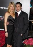 Patrick Dempsey and Jillian Dempsey Royalty Free Stock Photography