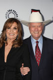 Patrick Duffy,Linda Gray,Larry Hagman Royalty Free Stock Photo