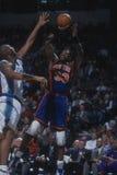 Patrick Ewing dei New York Knicks Fotografie Stock Libere da Diritti