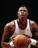 Patrick Ewing New York Knicks Arkivbild