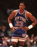Patrick Ewing. New York Knicks legend Patrick Ewing, (Image taken from color slide Stock Photography