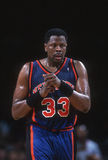 Patrick Ewing of the New York Knicks. Royalty Free Stock Images