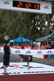 Patrick Ivuti gewinnt Honolulu-Marathon 2009 Stockfotografie