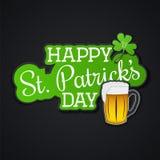 Patrick jest święty dzień Irlandzki wakacje ilustracji