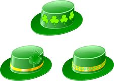 Patrick jest dni kapeluszy święty ilustracji