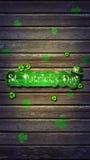 Patrick jest dzień św Tło Fotografia Royalty Free