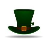 Patrick jest dzień skrzacie kapelusz st Fotografia Stock