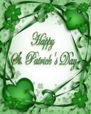Patrick jest tło dzień św. Zdjęcia Royalty Free