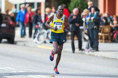 Patrick Korir from Kenya later came in as number seven in ASICS Stock Images