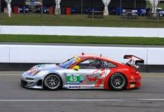 Patrick Long läuft Porsche Stockfotos