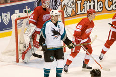 Patrick Marleau Watches The Play Royalty Free Stock Photos