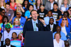 Patrick Murphy. Florida congressman Patrick Murphy Campaigns for Hillary Clinton in 2016 Stock Images
