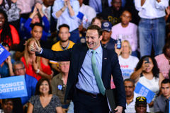 Patrick Murphy. Florida congressman Patrick Murphy Campaigns for Hillary Clinton in 2016 Stock Photo