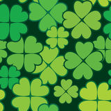 Patrick's day abstract seamless background Royalty Free Stock Image